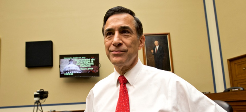 House Oversight Committee Chairman Darrell Issa, R-Calif.