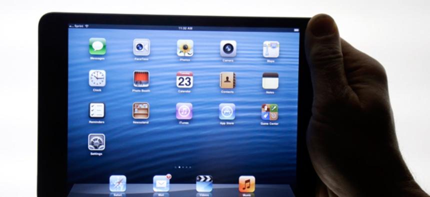 The iPad Mini is shown in San Jose, Calif.