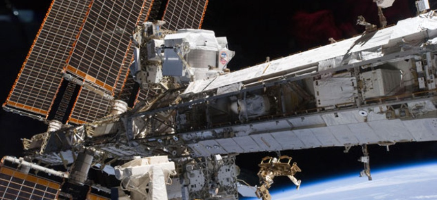 The severed connection also kept Roscosmos from communicating with the International Space Station.