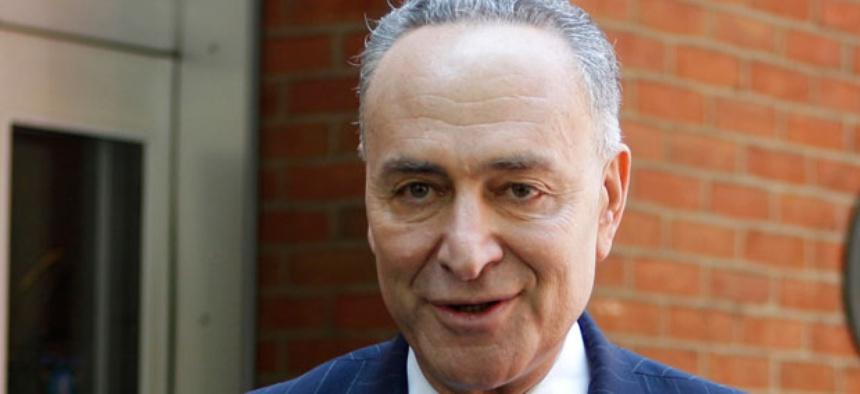 Sen. Chuck Schumer, D-N.Y., favors including STEM green-card legislation as part of broader immigration reform.