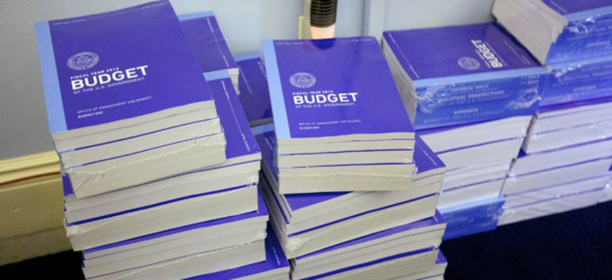 Obama released the most recent budget in February. Congress hasn't completed a budget at all in recent years.