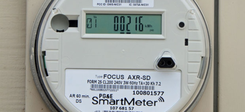 The military's meters may be based on those used in California.