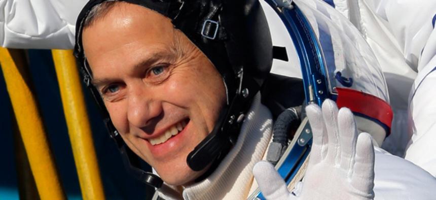 U.S. astronaut Thomas Marshburn