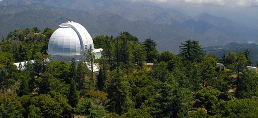 The Mount Wilson Observatory near Altadena, Calif.