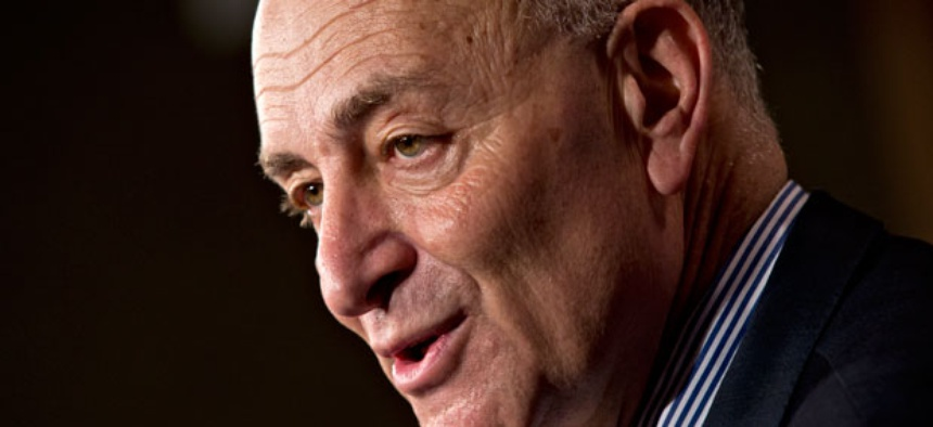 """""""If there's an attempt to just try and pass high-end, high-tech immigration, guess who will be furious? The Hispanic community,"""" New York Sen. Chuck Schumer said this week."""