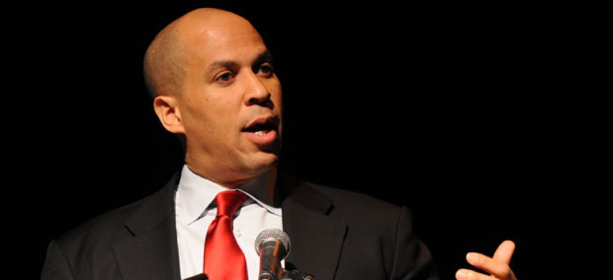 Newark Mayor Cory Booker spoke at South by Southwest last week,