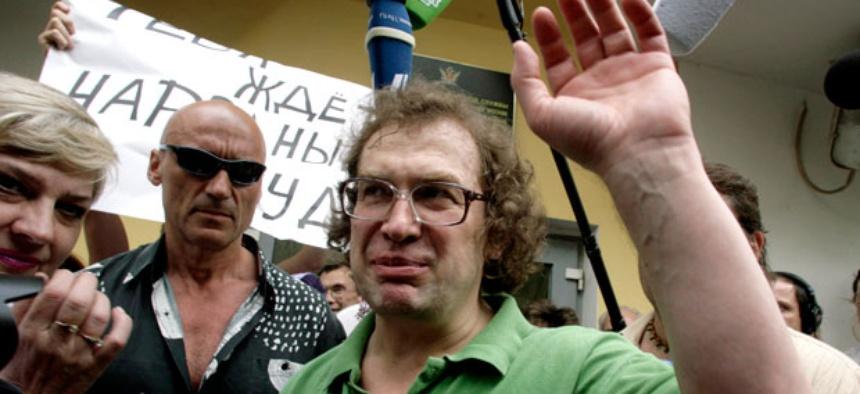 Sergei Mavrodi founder of digital currency mavros