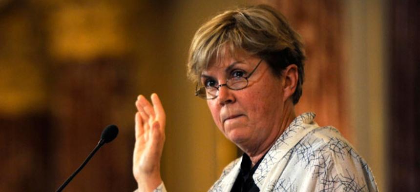 Deputy Secretary of Homeland Security Jane Holl Lute