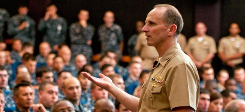 U.S. Navy, Chief of Naval Operations Adm. Jonathan Greenert