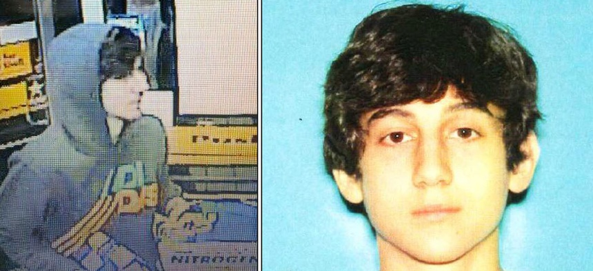 Dzhokhar A. Tsarnaev has been identified as one of the suspects.