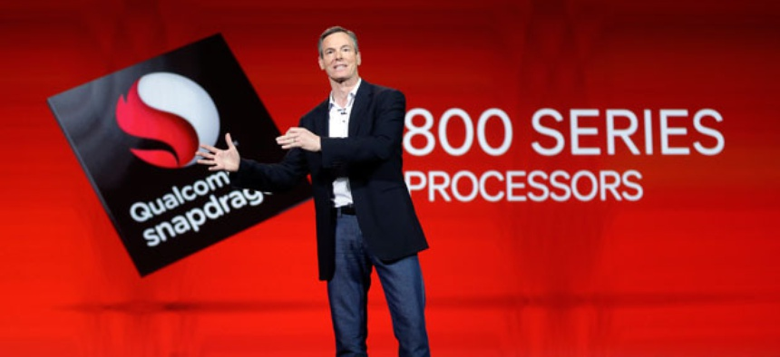 Qualcomm CEO Paul Jacobs talks about the company's new 800 series Snapdragon processors.
