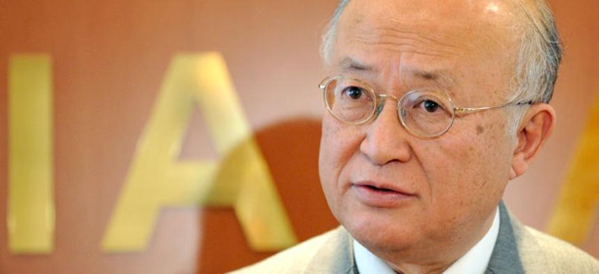 The Director General of the International Atomic Energy Agency, IAEA, Yukiya Amano