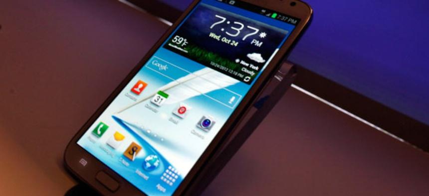 The Samsung Galaxy Note II runs Knox.