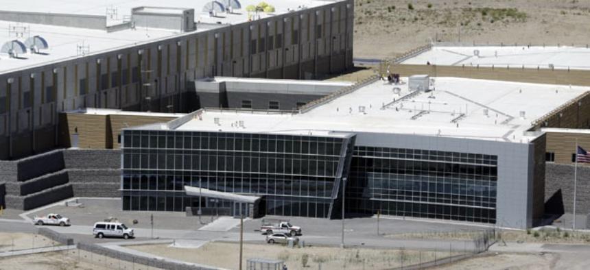 An aerial view of the NSA's Utah Data Center in Bluffdale, Utah, Thursday, June 6, 2013.