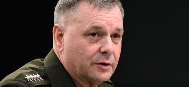 The White House has zeroed in on retired Marine Gen. James Cartwright