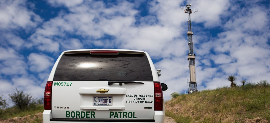 Customs and Border Protection currently uses some surveillance towers along the Mexican border.