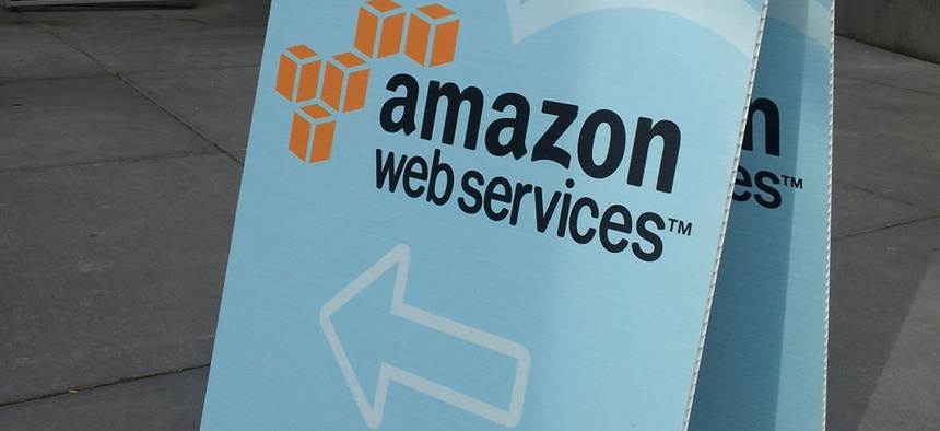 Amazon Web Services is one of the bidders.
