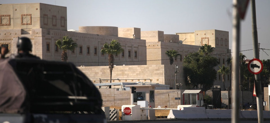 The U.S. embassy in Amman, Jordan is one of the shuttered embassies.