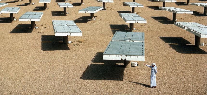 Saudi Arabia has been installing solar farms since 1989.