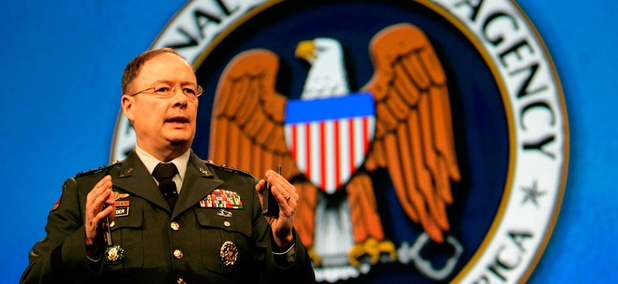 Gen. Keith Alexander, director of the National Security Agency