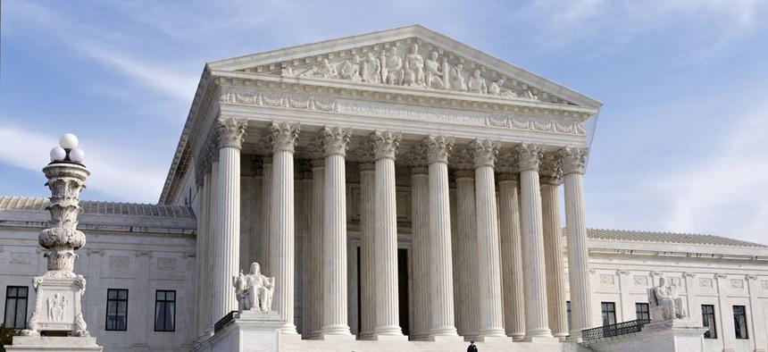 The U.S. Supreme Court in Washington, DC