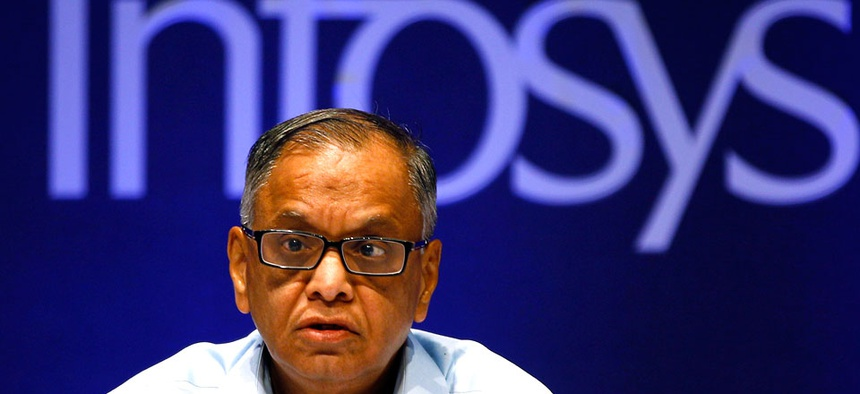 Infosys Executive Chairman N. R. Narayana Murthy