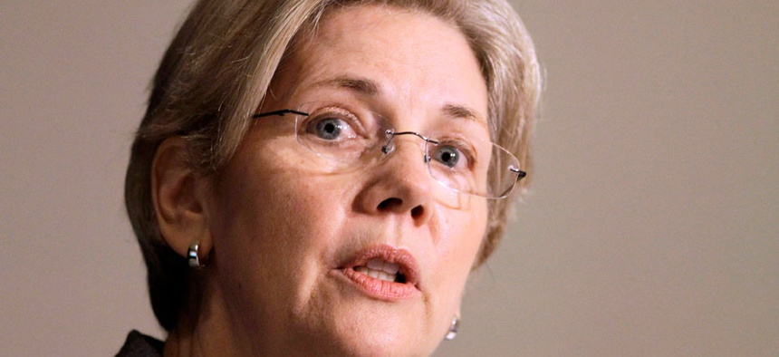 Sen. Elizabeth Warren, D-Mass., is one of the lawmakers signed up for the service.