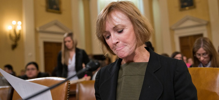 Marilyn Tavenner, administrator of the Centers for Medicare or Medicaid Services, testified Tuesday on Capitol Hill.