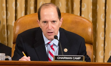 House Ways and Means Committee Chairman Dave Camp, R-Mich.,