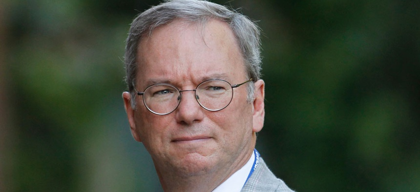 """Google's Eric Schmidt called NSA tactics was """"outrageous"""" and """"perhaps illegal."""""""