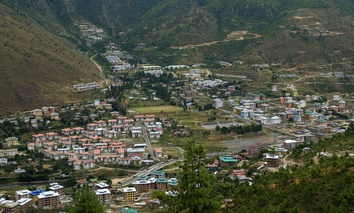 Thimphu is Bhutan's capital city.