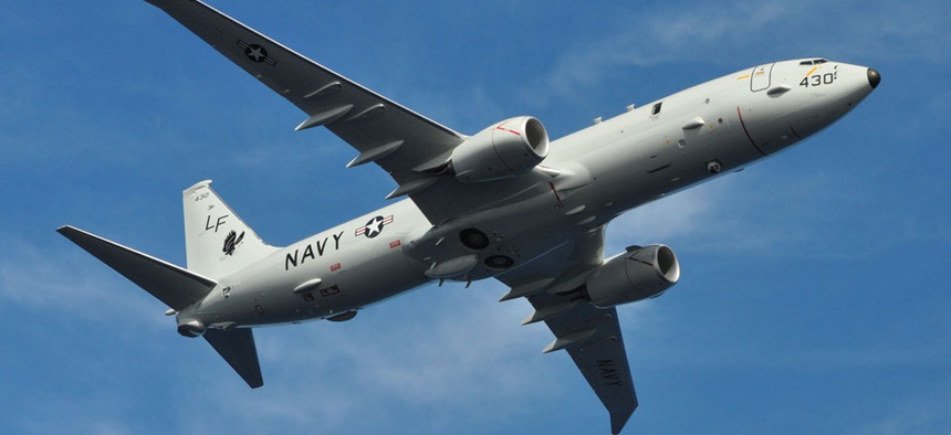 Two Boeing-built P-8A Poseidons have arrived at Kadena Air Force Base in Okinawa, Japan.