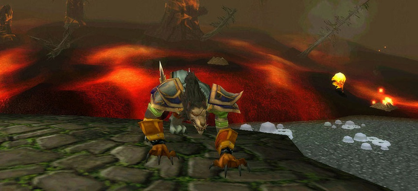 World of Warcraft is among the multiplayer online games in question.