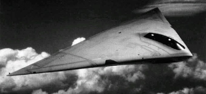An artist's concept of the plane in question.