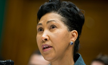 Cheryl Campbell, senior vice president of CGI Federal, testified on Capitol Hill in October.
