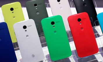 Motorola Moto X smartphones, using Google's Android software