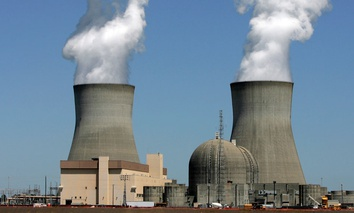 What a nuclear reactor typically looks like, at Plant Vogtle, in Waynesboro, Ga.