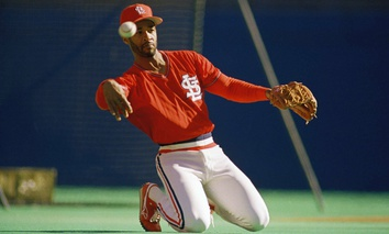 Cardinal great Ozzie Smith, shown here in 1987, was the public face of the petition.