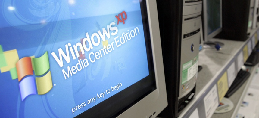 Why Feds Are Still Buying IT That Works With Windows XP