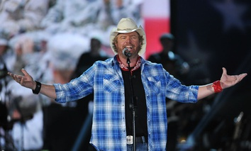 Country music artist Toby Keith
