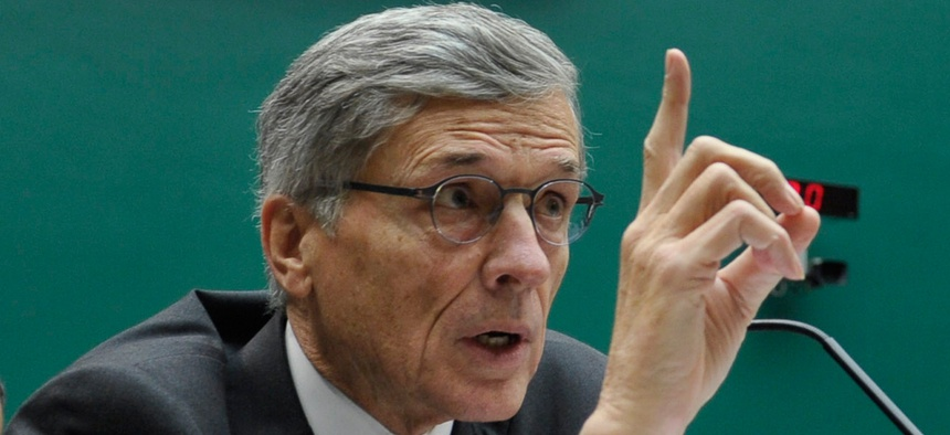 """If someone acts to divide the Internet between 'haves' and 'have nots,' we will use every power at our disposal to stop it,"" Tom Wheeler said."