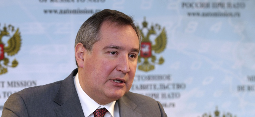 RT reported Tuesday that Russia's deputy prime minister, Dmitry Rogozin, plans to ban operation of U.S. GPS monitoring sites in Russia.