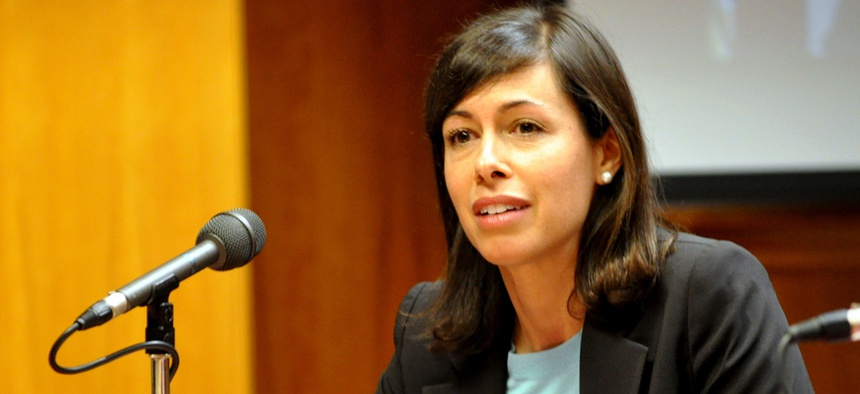 """""""We cannot have a two-tiered Internet, with fast lanes that speed the traffic of the privileged and leave the rest of us lagging behind,"""" Commissioner Jessica Rosenworcel said."""