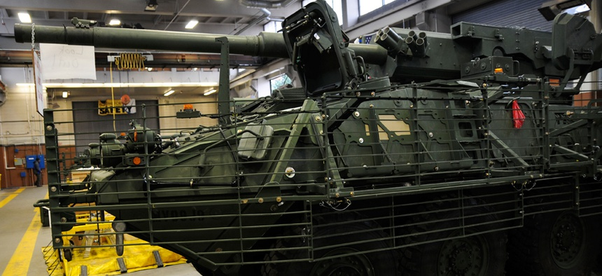 General Dynamics, responsible for Stryker armored fighting vehicle, is one of the most-disputed Army contractors.
