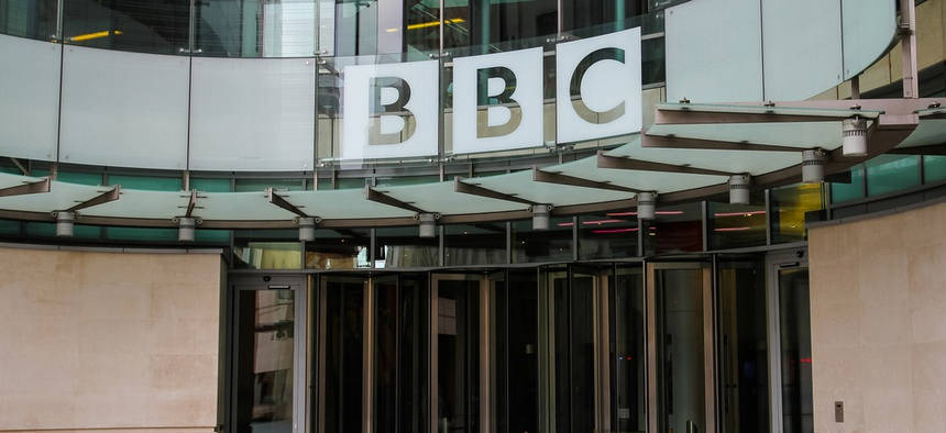 BBC's news operation is headquartered in London.