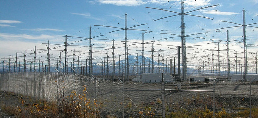 The HAARP antenna array