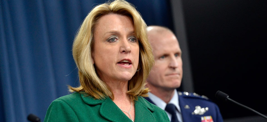 Air Force Secretary Deborah Lee James