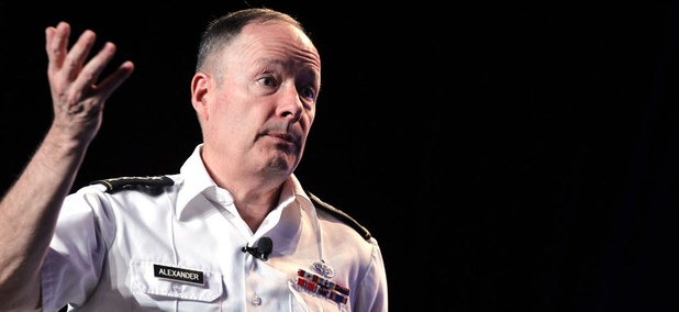 Army General Keith Alexander, head of the National Security Agency