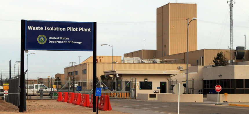 The Waste Isolation Pilot Plant, the nation's only underground nuclear waste repository near Carlsbad, N.M.