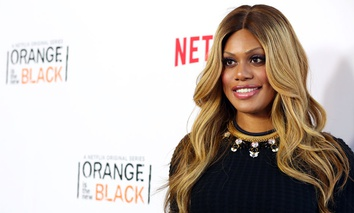 """Orange is the New Black"" actress Laverne Cox"